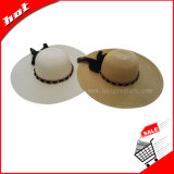 Woman Floppy Paper Straw Hat Fashion Hat