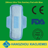 280mm Blue Chiped Sanitary Pad for Night Use