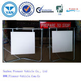 Metal Double Sided Pavement Sign Board Frame (PV-F3)
