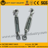 Forged Electric Galvanized Eye and Eye DIN 1480 Turnbuckle