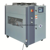 Air-Cooled Industrial Chiller with Top Side of Fans