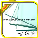Safety Colored Tempered Glass Thickness with CE / ISO9001 / CCC