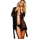 Night Robe Style Ladies Sexy Lingerie in Low Price