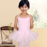 Professional New Style Fancy Skirted Girl Dance Leotards
