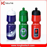 Plastic Sports Water Bottle, Plastic Sports Bottle, 800ml Plastic Drink Bottle (KL-6126)