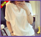 Fashion Sexy Cotton Printed T-Shirt for Women (W269)