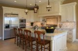 Red Oak Natural Wood Veneer Kitchen Cabinet