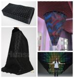 Pillar Flexible LED Curtain / Soft LED Video Drapery for Staging