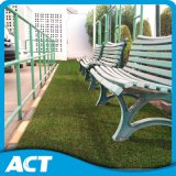 UV Resistance Artificial Turf with Yellow Curly Yarn for Residence