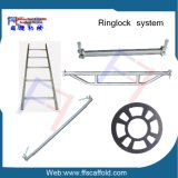 Q345 Steel Galvanized Ringlock System Scaffolding for Construction