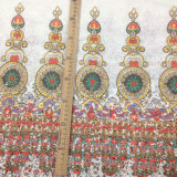 Milk Silk Water Soluble Embroidery Lace Printed Fabric