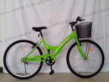 City Bicycle City Bike for Lady with Basket and Rear Carrier (HC-LB-41580)
