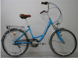 24inch 3 Speed Alloy Frame Lady City Bicycle