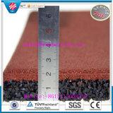 CE Certificated Crossfit Gym Rubber Mat, Indoor Rubber Floor Tile