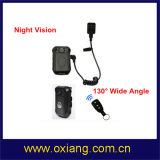 Night Vision 1080P Police Body Worn Camera Support Mini External Camera