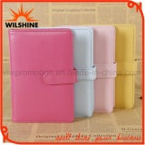 High Quality PU Leather Cover Notebook with Magnetic Closure (PUN405)