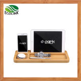 Bamboo Desk Organizer/ Bamboo Mobile Holder for iPad Stand