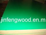 100% Poplar 1220*2440mm Melamine MDF/Laminated MDF/Brilliant Green Color/Embossment Surface