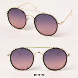 2018 S/S Trend High Fashion Celebrity Round Sunglasses