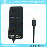USB 3.0 Fast Speed USB Type C Hub (ZYF4012)