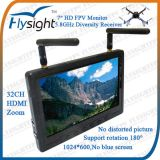 """E10 Flysight Black Pearl RC801 7"""" Screen with Two Built-in Rx Receiver for Dji Drones Phantom 2 (RC801)"""