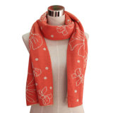 Lady Fashion Acrylic Knitted Winter Warm Scarf (YKY4194)