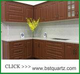 6131 Bianco Drift Quartz Stone Kitchen Counter Top