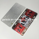 Embossing Souvenir Wholesale License Plates
