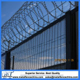 Black 358 High Security Wire Mesh Fencing