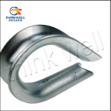 European Ordinary Galvanized Steel Wire Rope Thimble