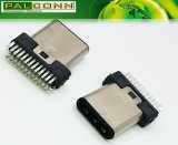 High Quality USB 3.1 Type C Male Plug 22 Pin USB-If Number: 5, 200, 000, 284