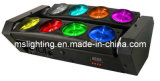 Disco DJ Black Spider Light 8*10W White/RGBW 4in1 Multi-Color LED Beam Light