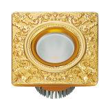 24k Gold Plated Brass Hotel LED Light