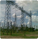 Power Transmission and Distribution Line Substation Steel Structure