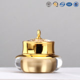 15g 30g 50g Luxury Gold Crown Shaped Plastic Acrylic Cosmetic Jar