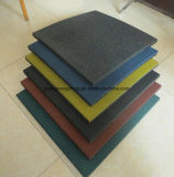 Outdoor Rubber Tile Colorful Rubber Tile Square Rubber Tile