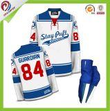 Wholesales Custom Blank Sublimation Ice Hockey Jersey, Dye Sublimation Hockey Uniform Design