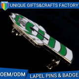 Custom Pretty Logo Badge Pin with Safety Pin