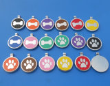 Diverse Bone, Paw and Heart Shape Engraved Dog ID Tags