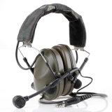 Airsoft Tactical Military Paintball Sound-Trap Wired Military Headset Headphone Cl42-0025