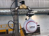 Automatic Infrared Tracking Fire Fighting Cannon System with Various Flow Rates