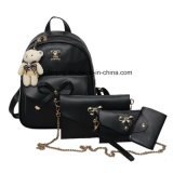 Bw1-085 Composite Women′s Bag Lady Handbag for Wholesale Backpack Sets