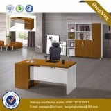 Wooden Top Cluster Curved Computer Office Table (HX-GD047)