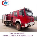 HOWO 4*4 Forest Fire Fighting Truck for Sale