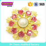Factory Fancy Gold Rhinestone Crystal Brooch for Women