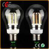A60 6W Glass Retro E27 House Used LED Filament Bulb