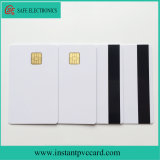 Standard Credit Card Size PVC 4428 Chip Card with Magnetic Stripe