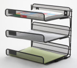 Metal Mesh Stationery Magazine Rack/ Office Desk Accessories