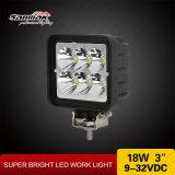 """Waterproof IP68 18W 3"""" Heavy Duty LED Work Light"""