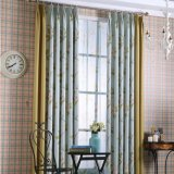 Country Style Printed Window Curtain Blackout Curtain Fabric